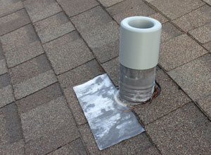 Damaged roof venting