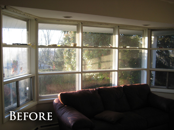 Old bay windows before