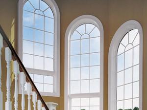 Home Depot Round-Top Windows