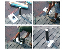 1:45 PM: Skylight & Chimney Flashing