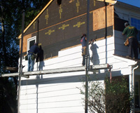 Siding Installation Process 2