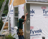 Siding Installation Process 4