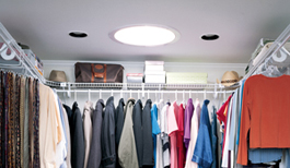 Skylight in a Closet