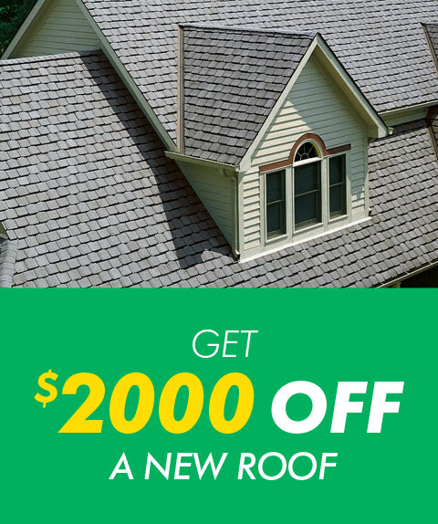 Roofing special ad