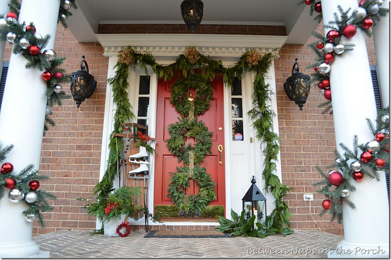 Do it yourself outdoor christmas decorating ideas elitflat dress up your porch for the season christmas pj fitzpatrick saveenlarge do it yourself outdoor christmas decorating ideas solutioingenieria Images