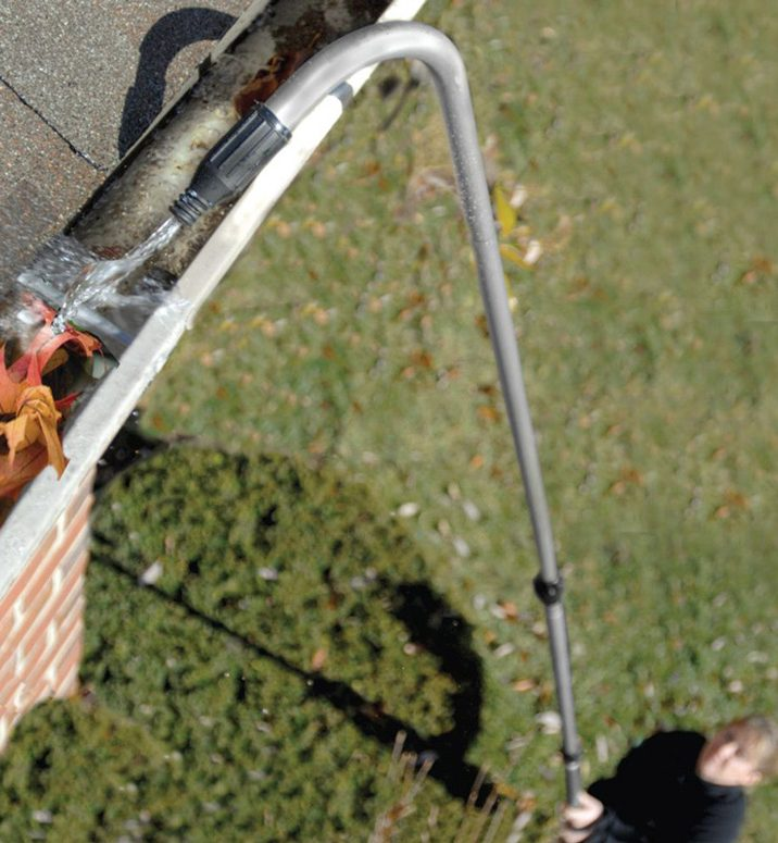 How To Clean Gutters From The Ground Diy Pj Fitzpatrick