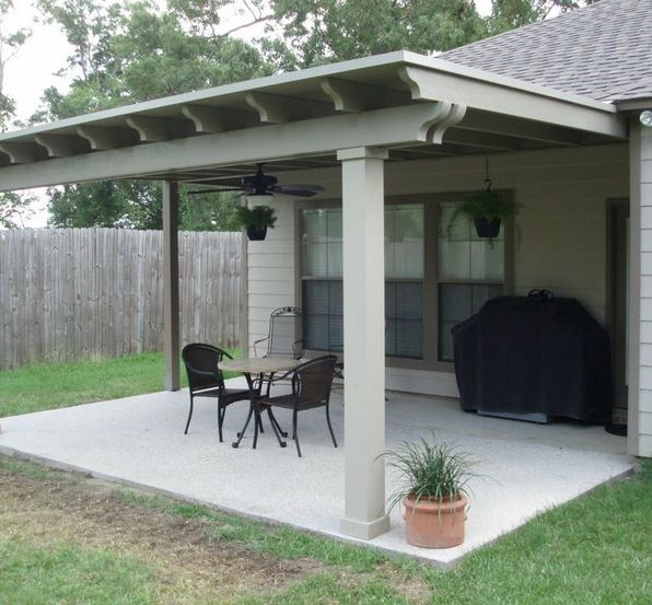 How To Attach A Patio Roof To An Existing House Diy Pj