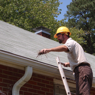 How to Clean Out Gutters