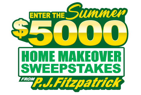 P J  Fitzpatrick's $5,000 Summer Home Makeover Sweepstakes