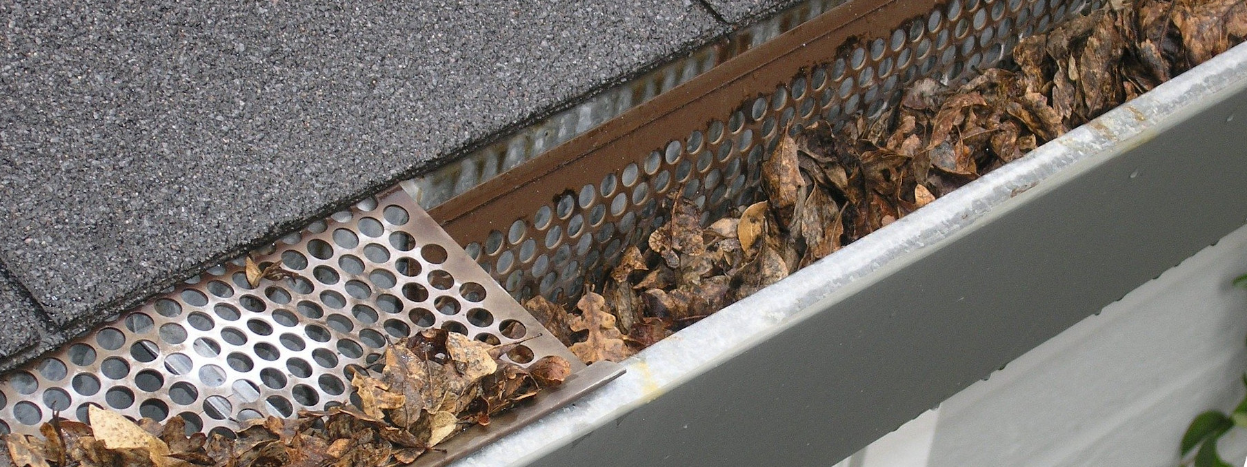 Gutter guard repair