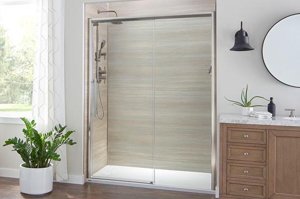 Clean Shower Conversion