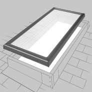 Curb Mounted Skylight Installation