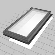 Deck Mounted Skylight Installation