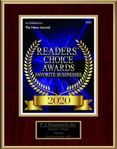 2020 Readers Choice Award - Favorite Business