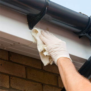 How to Replace Fascia Board Behind Gutter